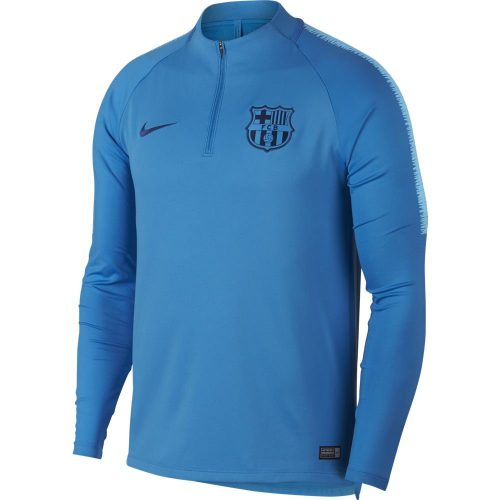 Nike FC Barcelona Dry Squad Trainingstrui 2018-2019 Lichtblauw