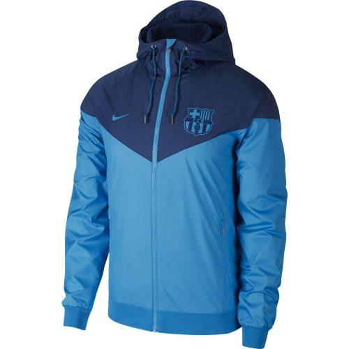 Nike FC Barcelona Authentic Windrunner 2018-2019 Lichtblauw