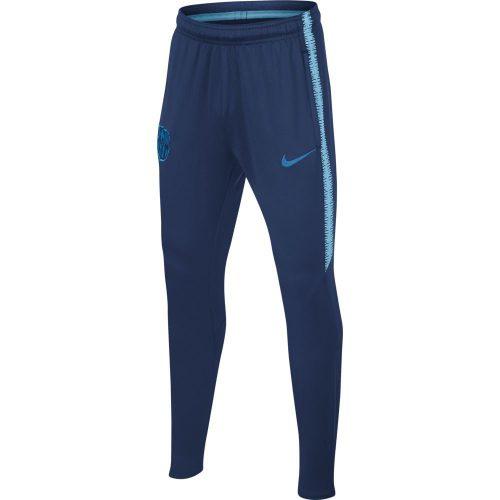 Nike FC Barcelona Dry Squad Trainingsbroek 2018-2019 Kids Blauw