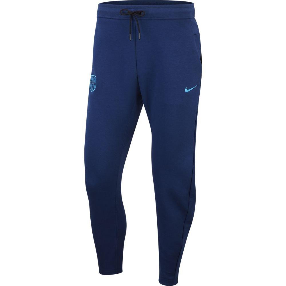 Nike FC Barcelona Tech Fleece Joggingbroek Blauw