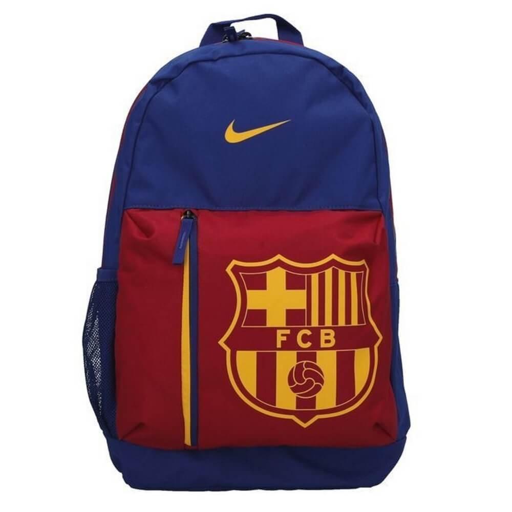 Nike FC Barcelona Backpack Kids Donkerblauw Rood