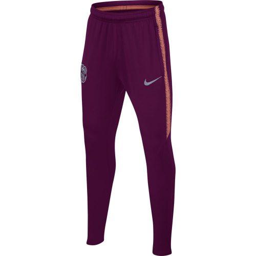 Nike FC Barcelona Dry Squad Trainingsbroek 2018-2019 Kids Deep Maroon