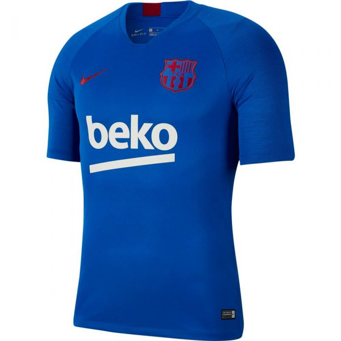 Nike FC Barcelona Breathe Strike Trainingsshirt 2019-2020 Blauw