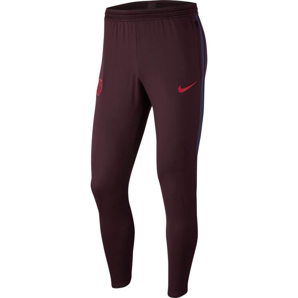 Nike FC Barcelona Dry Strike Trainingsbroek KP 2019-2020 Donkerrood Blauw