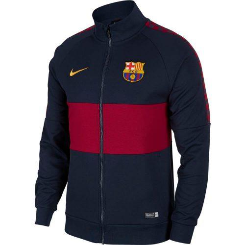 Nike FC Barcelona I96 Trainingsjack 2019-2020 Donkerblauw Rood