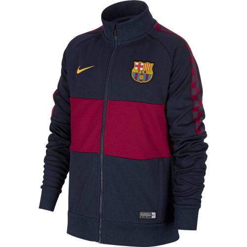Nike FC Barcelona I96 Trainingsjack 2019-2020 Kids Donkerblauw Rood