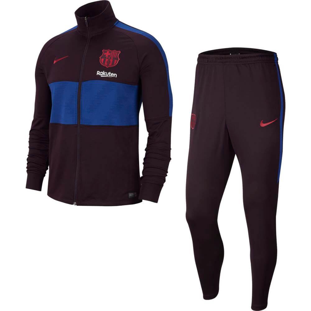 Nike FC Barcelona Dry Strike Trainingspak 2019-2020 Rood