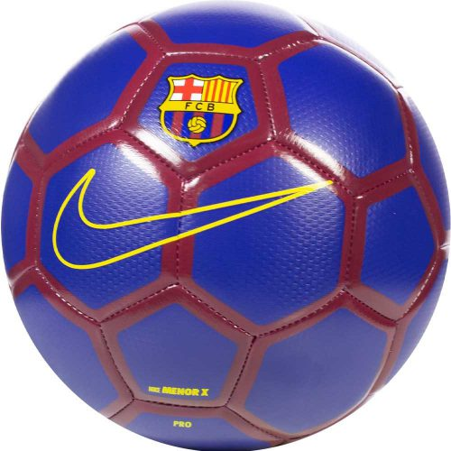 Nike FC Barcelona MENOR X Voetbal Donkerblauw Rood