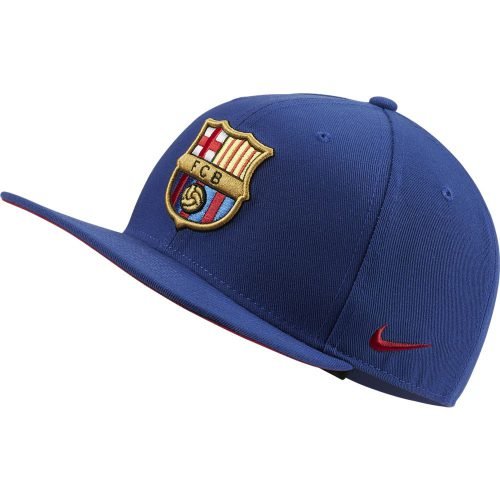 Nike FC Barcelona Pro Cap Donkerblauw Rood