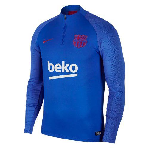 Nike FC Barcelona Dry Strike Trainingstrui 2019-2020 Blauw Rood