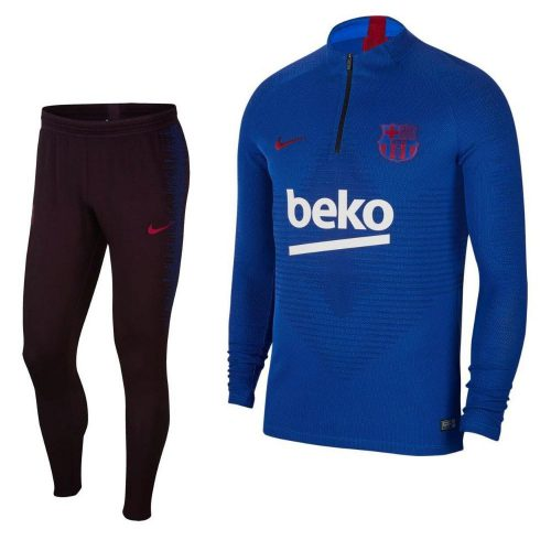 Nike FC Barcelona VaporKnit Drill Strike Trainingspak 2019-2020 Blauw Rood