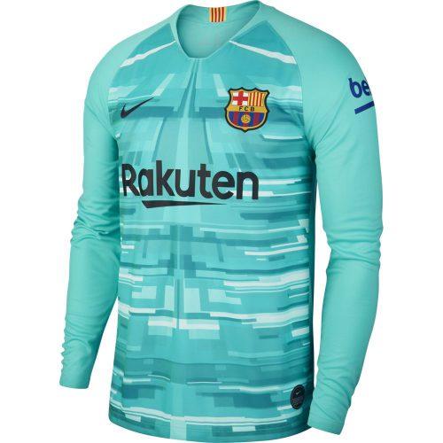 Nike FC Barcelona Keepersshirt 2019-2020 Groen