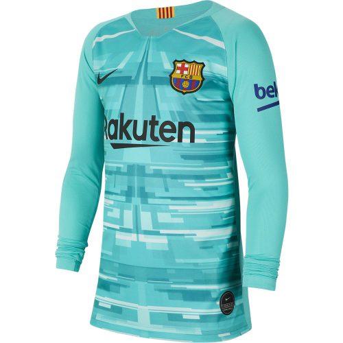 Nike FC Barcelona Keepersshirt 2019-2020 Kids Groen