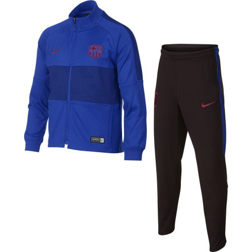 Nike FC Barcelona Trainingspak 2019-2020 Blauw Rood (KLEUTERS)