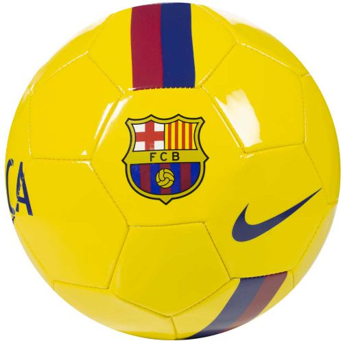 Nike FC Barcelona Voetbal Geel Rood Blauw