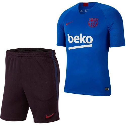 Nike FC Barcelona Trainingsset 2019-2020 Kids Blauw