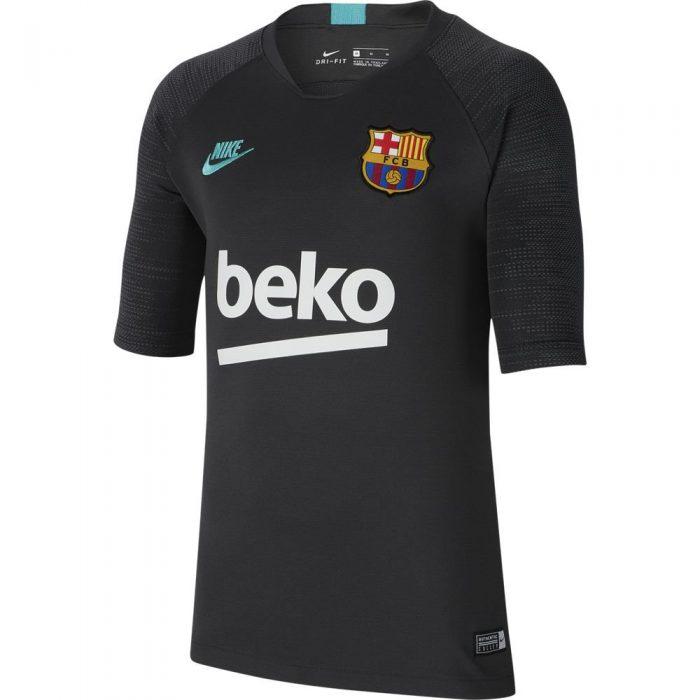 Nike FC Barcelona Breathe Strike Trainingsshirt 2019-2020 Grijs