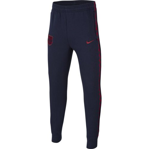 Nike FC Barcelona GFA Fleece Trainingsbroek KZ Kids Donkerblauw