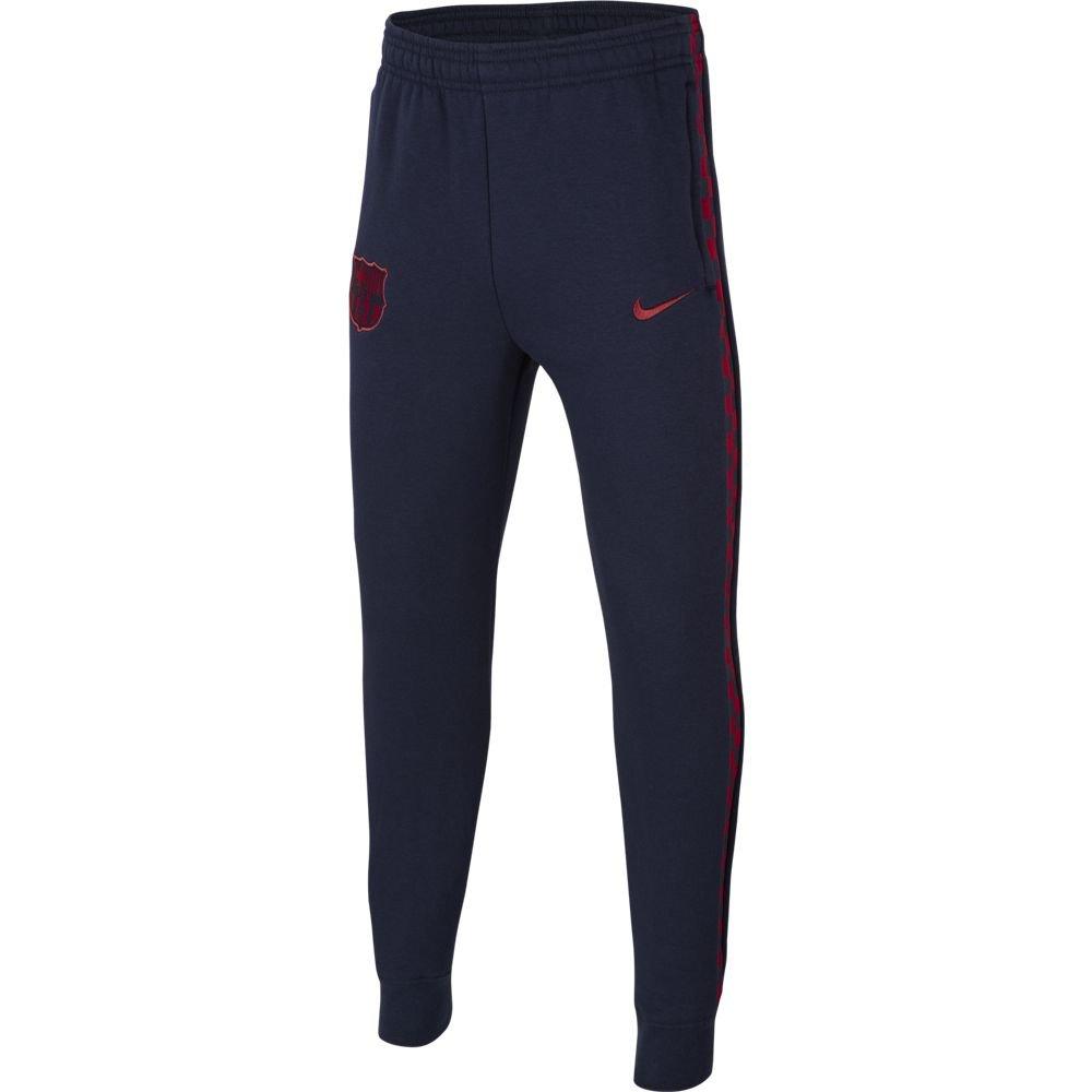 Nike FC Barcelona GFA Fleece Trainingsbroek KZ Kids Donkerblauw