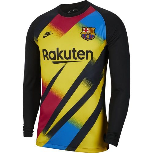 Nike FC Barcelona Keepersshirt Champions League 2019-2020 Geel