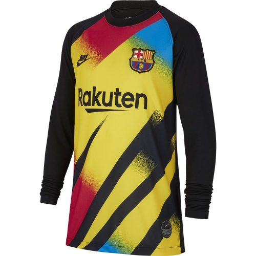 Nike FC Barcelona Keepersshirt Champions League 2019-2020 Kids Geel