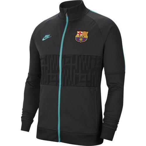 Nike FC Barcelona I96 Trainingsjack Champions League 2019-2020 Zwart Grijs