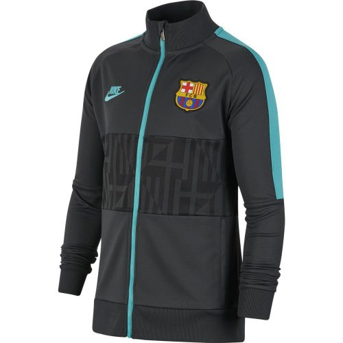 Nike FC Barcelona I96 Trainingsjack Champions League 2019-2020 Kids Zwart Grijs
