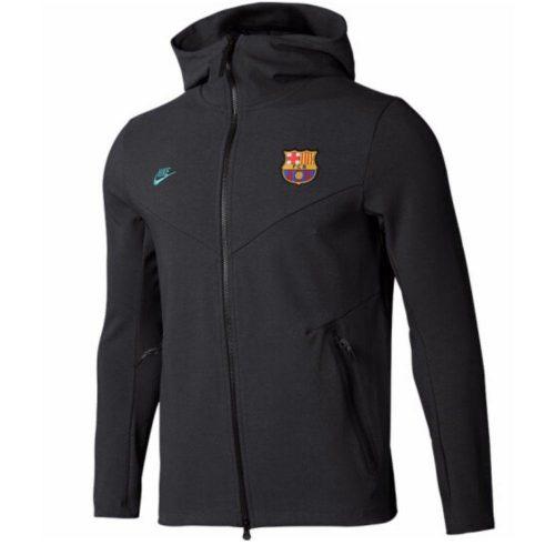 Nike FC Barcelona NSW Tech Fleece FZ Hoodie 2019-2020 Kids Antraciet