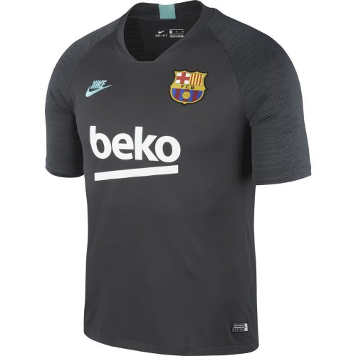 Nike FC Barcelona Strike Trainingsshirt 2019-2020 Antraciet