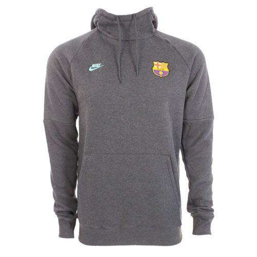 Nike FC Barcelona GFA Fleece Hoodie 2019-2020 Antraciet