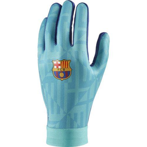 Nike FC Barcelona Hyperwarm Academy Handschoenen Kids Groen Blauw