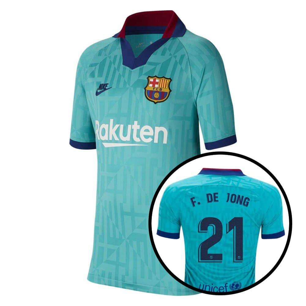 Nike FC Barcelona 3rd Shirt De Jong 21 2019-2020 Kids