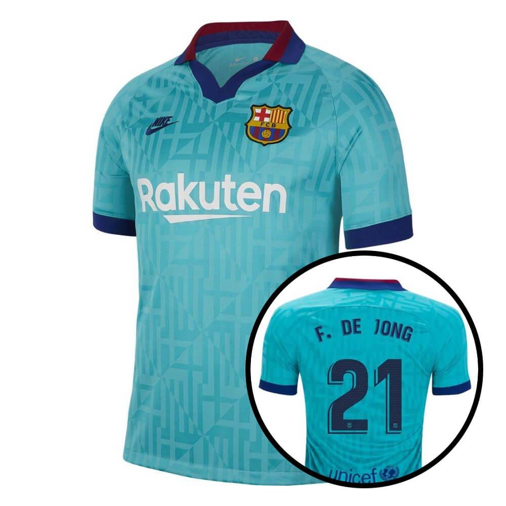Nike FC Barcelona 3rd Shirt De Jong 21 2019-2020