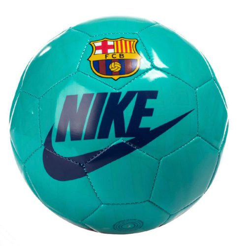 Nike FC Barcelona Skills Mini Voetbal Groen Blauw Rood