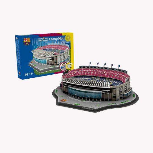 FC Barcelona Camp Nou 3D Stadion Puzzel