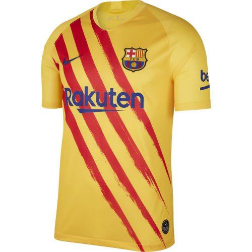Nike FC Barcelona Stadium Voetbalshirt 2019-2020 Geel Rood