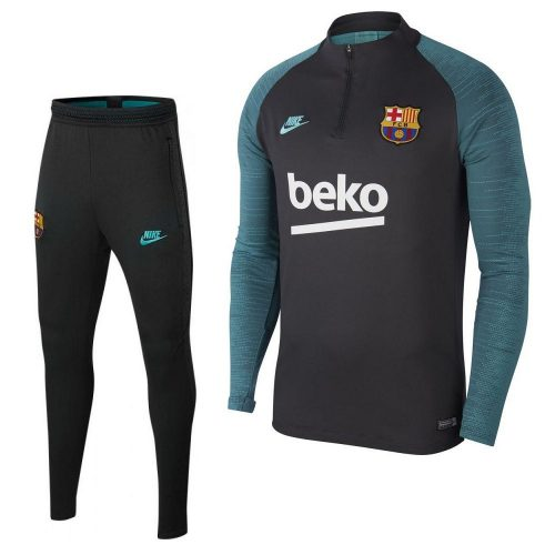 Nike FC Barcelona Strike Trainingspak Antraciet Groen 2019-2020