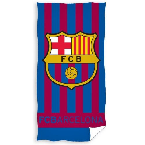 Badlaken FC Barcelona Blauw Rood 70x140cm