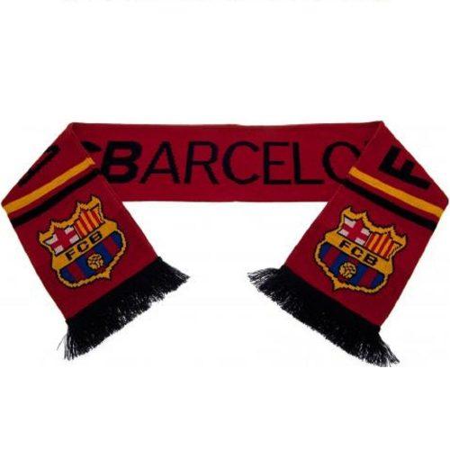 Sjaal FC Barcelona Rood
