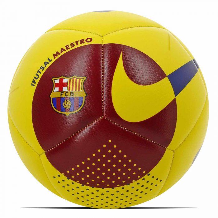 Nike FC Barcelona FUTSAL MAESTRO Voetbal Geel