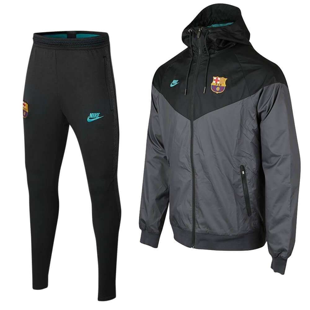 Nike FC Barcelona Windrunner Trainingspak 2019-2020 Antraciet