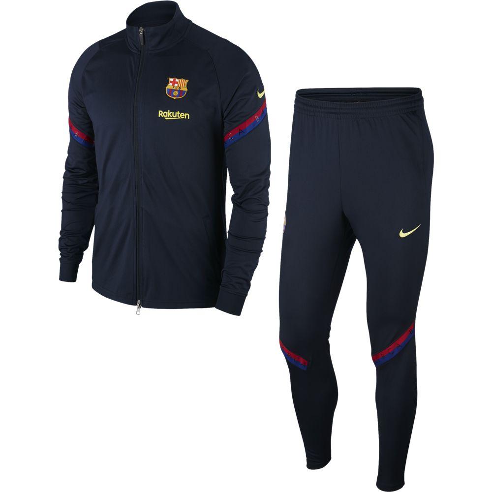Nike FC Barcelona Strike Trainingspak 2020 Donkerblauw