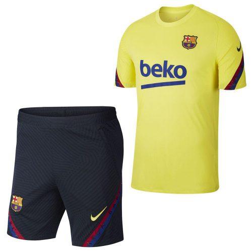 Nike FC Barcelona Strike Trainingsset 2019-2020 Geel Blauw
