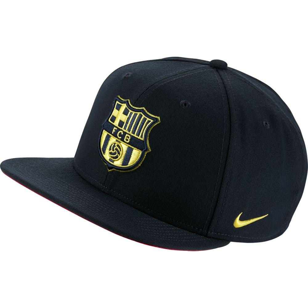 Nike FC Barcelona Pro Cap Donkerblauw Geel