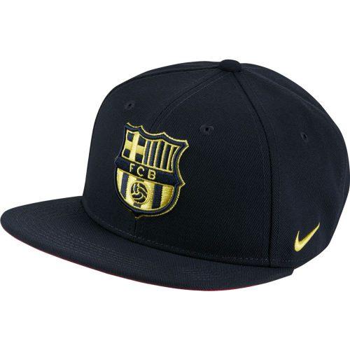 Nike FC Barcelona Pro Cap Kids Donkerblauw Geel