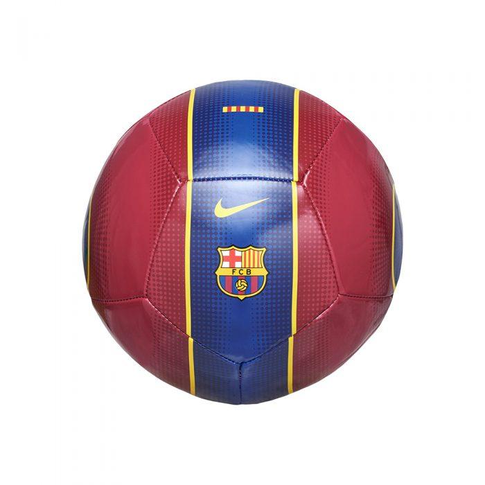 Nike FC Barcelona Skills Mini Voetbal Rood Donkerblauw