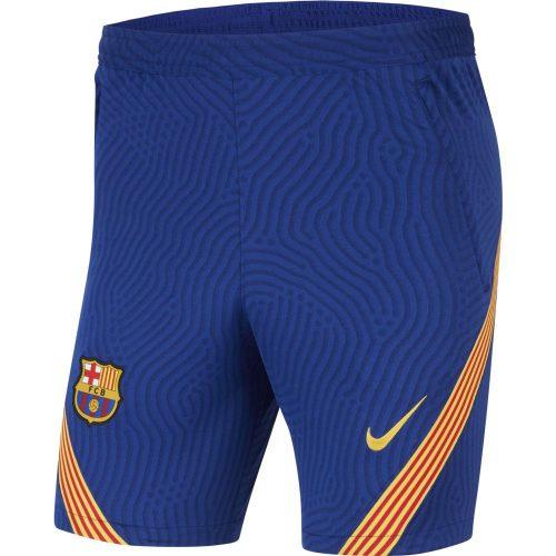 Nike FC Barcelona Dry Strike Trainingsbroekje KZ 2020-2021 Blauw
