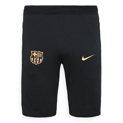 Nike FC Barcelona Dry Strike Trainingsbroekje 2020-2021 Zwart Goud