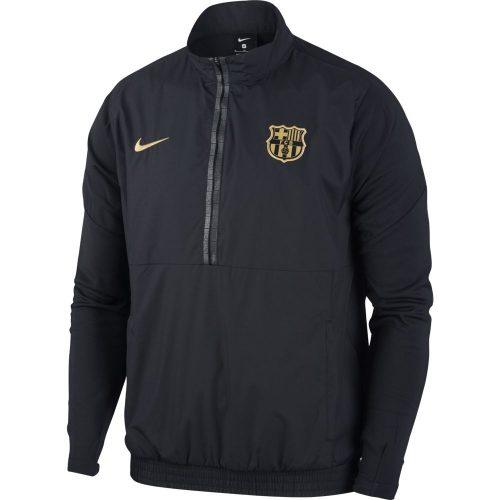 Nike FC Barcelona Trainingsjack Woven 2020-2021 Zwart Metallic