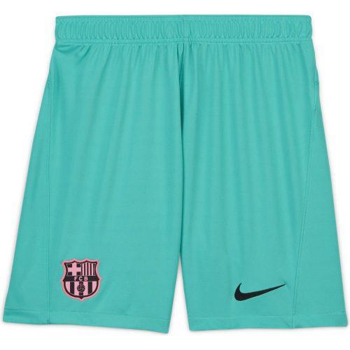 Nike FC Barcelona 3rd Voetbalbroekje 2020-2021 Groen
